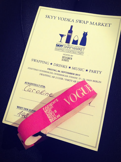 Skyy Vodka Swap Market 2013, berlin music week 2013, VOGUE Fashion Night out,American Apparel, & other stories und Forever 21
